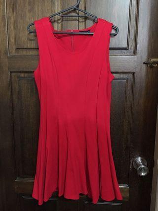 Pazzo純紅氣質洋裝