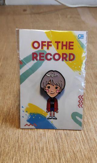 Pin Off the Record Ria SW (Ori & Limited edition)