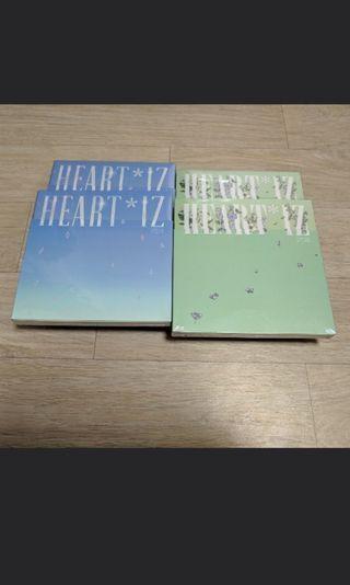 [Sealed] Izone 2nd Mini Album Heart*iz