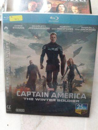Bluray captain America the winter soldier