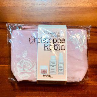 全新 Christophe Robin 玫瑰豐盈旅行組▸單售化妝包/萬用包⚠️不含內容物產品⚠️