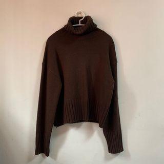 🖇高領針織毛衣