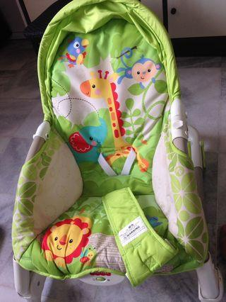 Fisher price bouncer and walker
