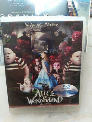 Bluray alice in wonderland