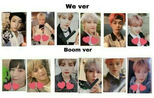 🚚 [wtt/wtb] nct dream we boom pc