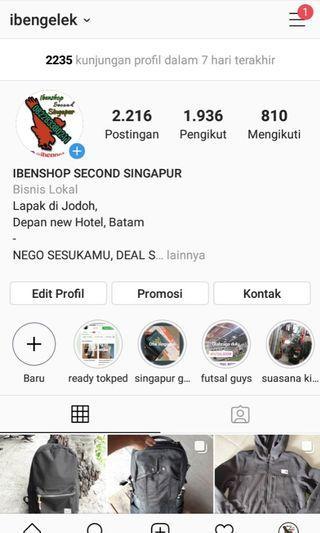 Di follow aja instagram @ibengelej