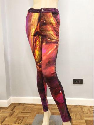 Galaxy Print Pants