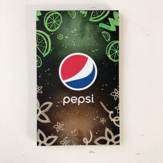 Pepsi Black Paper Pad