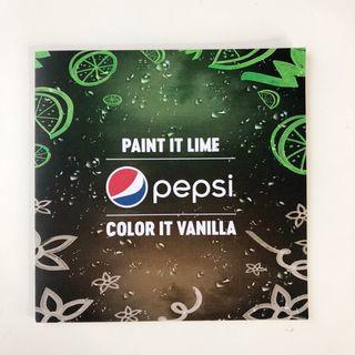 Pepsi Coloring and Sticker Book