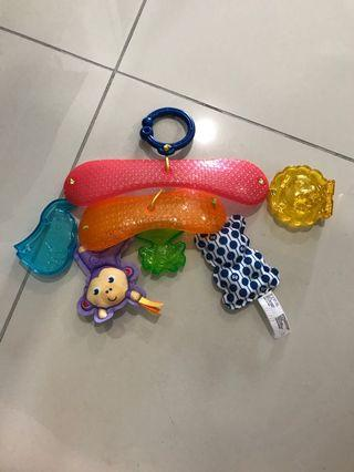Fisher Price Stroller hanging toys for babies