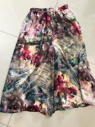 KeyNg floral fashionable drape pants