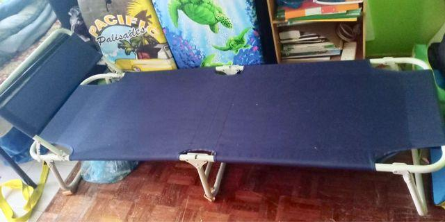 Solid good condition camp bed