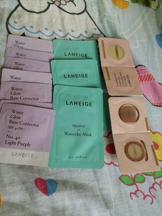 Laneige samples