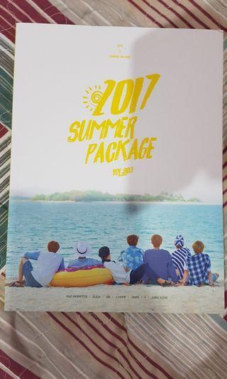 [WTS]BTS Summer Package 2017 Photobook