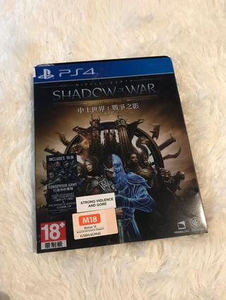 Shadow of war - PS4 game