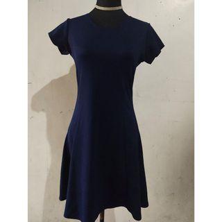 DARK BLUE DRESS ELEGANT FORMAL