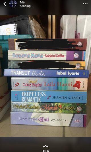 Preloved Malay novels