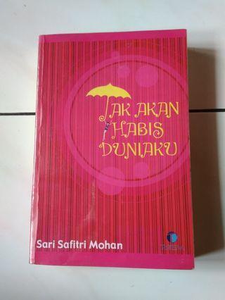 Novel Remaja Tak Kan Habis Duniaku by Sari Safitri Mohan