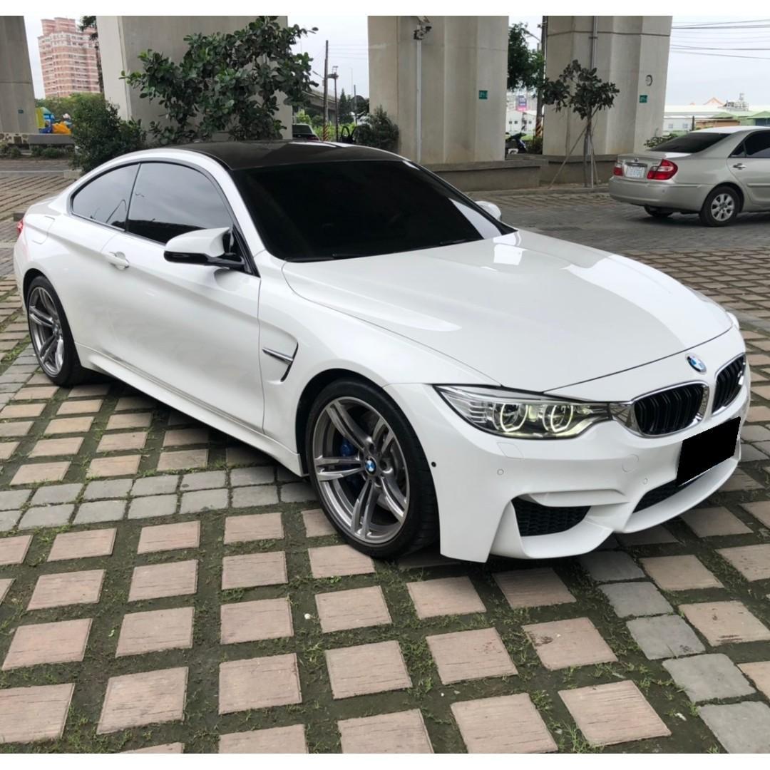 2014年出廠 BMW F82-M4 總代理 無待修 原版件 一手車 原廠保養 記錄齊 無惡改 可全額貸