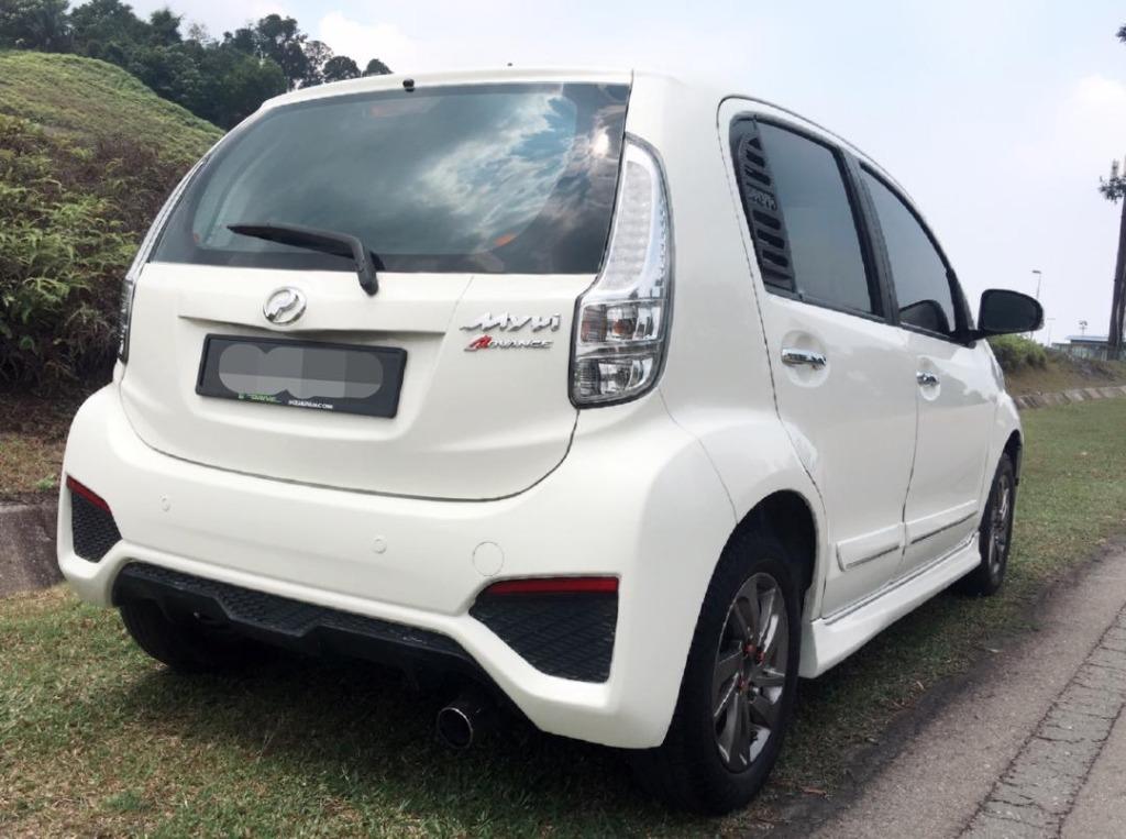 2016 Perodua MYVI 1.5 ADVANCE FACELIFT (A)B/L Loan Kedai Dp 3-5k