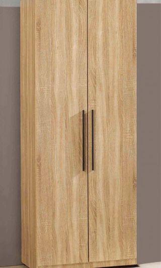 2.3尺 橡木紋單層抽屜衣櫃