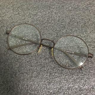 免運|文藝感圓框無度數眼鏡