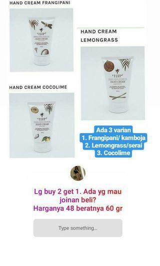 Cocona care hand cream