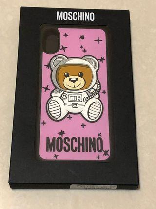 Moschino iPhone X 手機殼