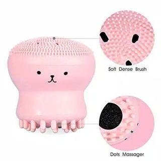 exfoliating jelly fish silicon brush