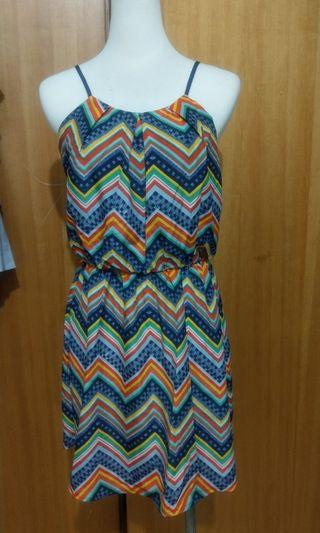 S) 圖騰夏季洋裝 summer dress