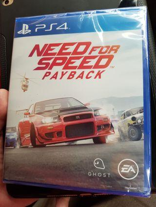 BNIB BD Need For Speed Payback