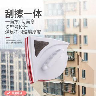 【新品12H出貨】雙面磁性擦窗器3mm~8mm單層玻璃適用