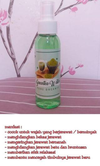 Greentea water