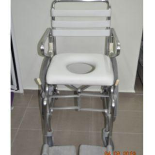 🚚 Travel Commode Wheelchair for shower