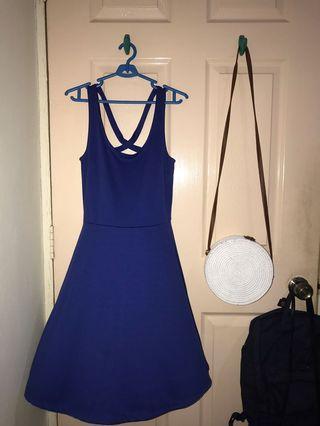 H&M cross-back dress