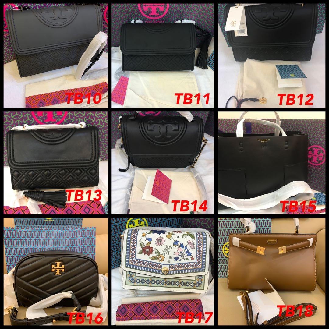 (5/08/19)Ready Stock Tory Burch original wallet clutch wristlet coach woc Kate spade backpack tote gym backpacks