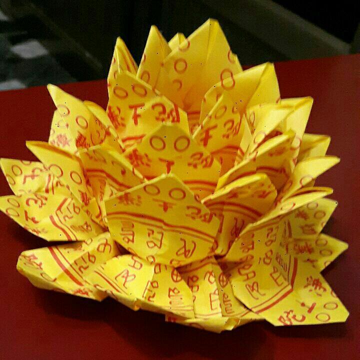 手工製作蓮花