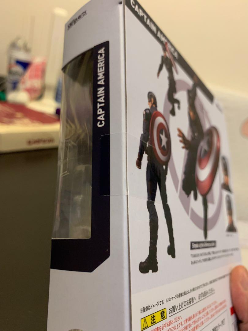 (全新日版) S.H.Figuarts SHF Endgame Captain America 美國隊長