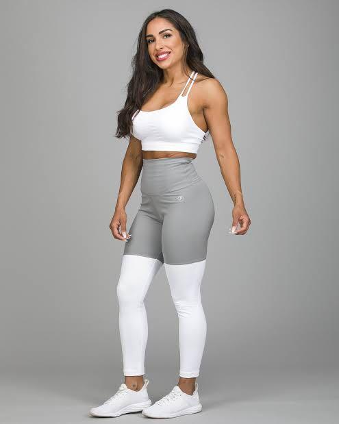 ABS2B Fitness Apparel | Marilyn Munroe Waistband | Flex Silver Scrunch Booty Tight