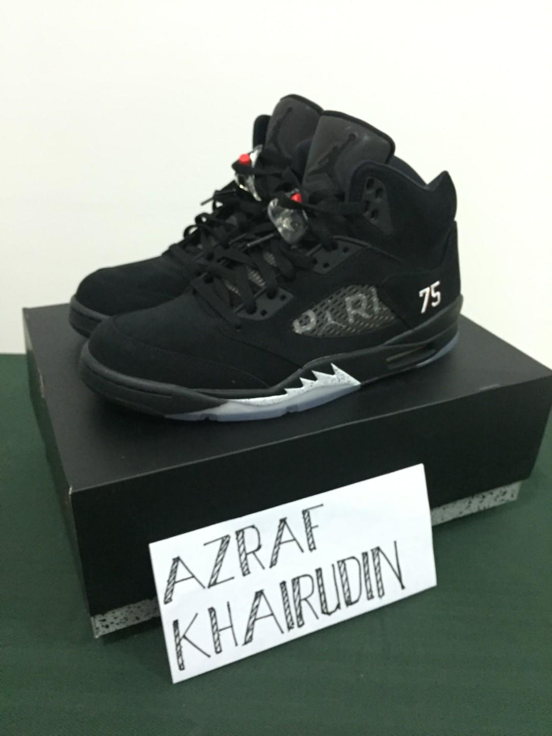 buy online 2fab4 3388d Air Jordan 5 AJ5 Paris Saint Germain 'PSG' UK10 USA11 EU44 ...