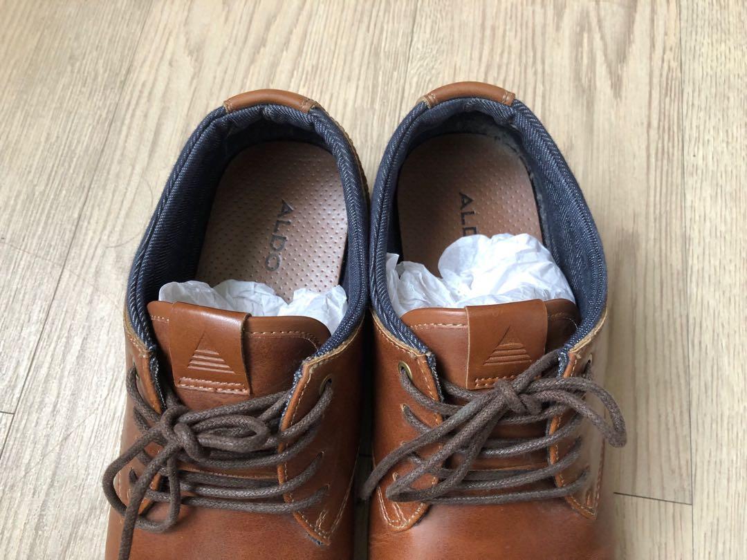ALDO 咖啡色牛津鞋 US8號