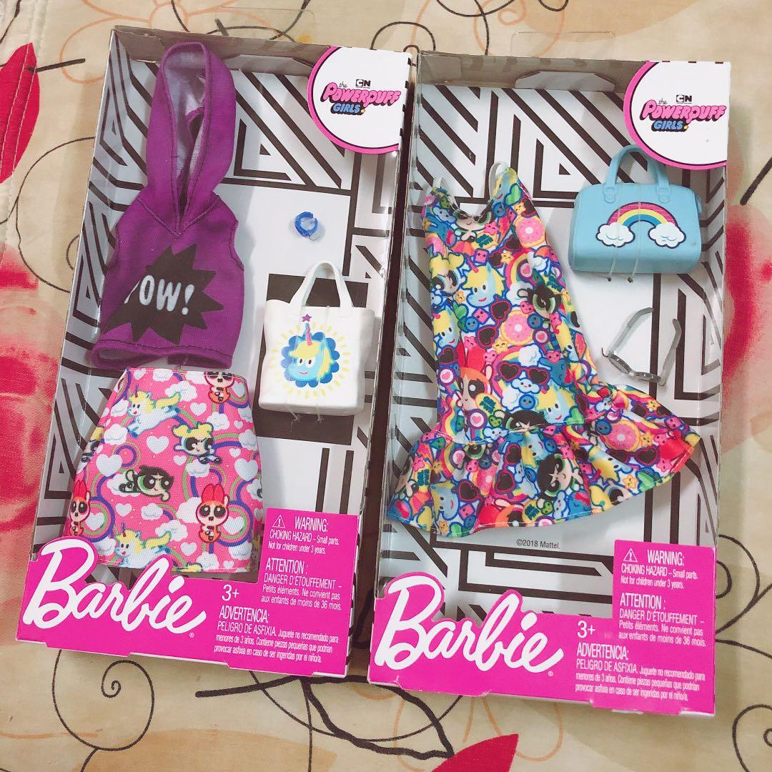 Barbie Powerpuff Girls Fashion Pack Toys Games Action Figures Collectibles On Carousell