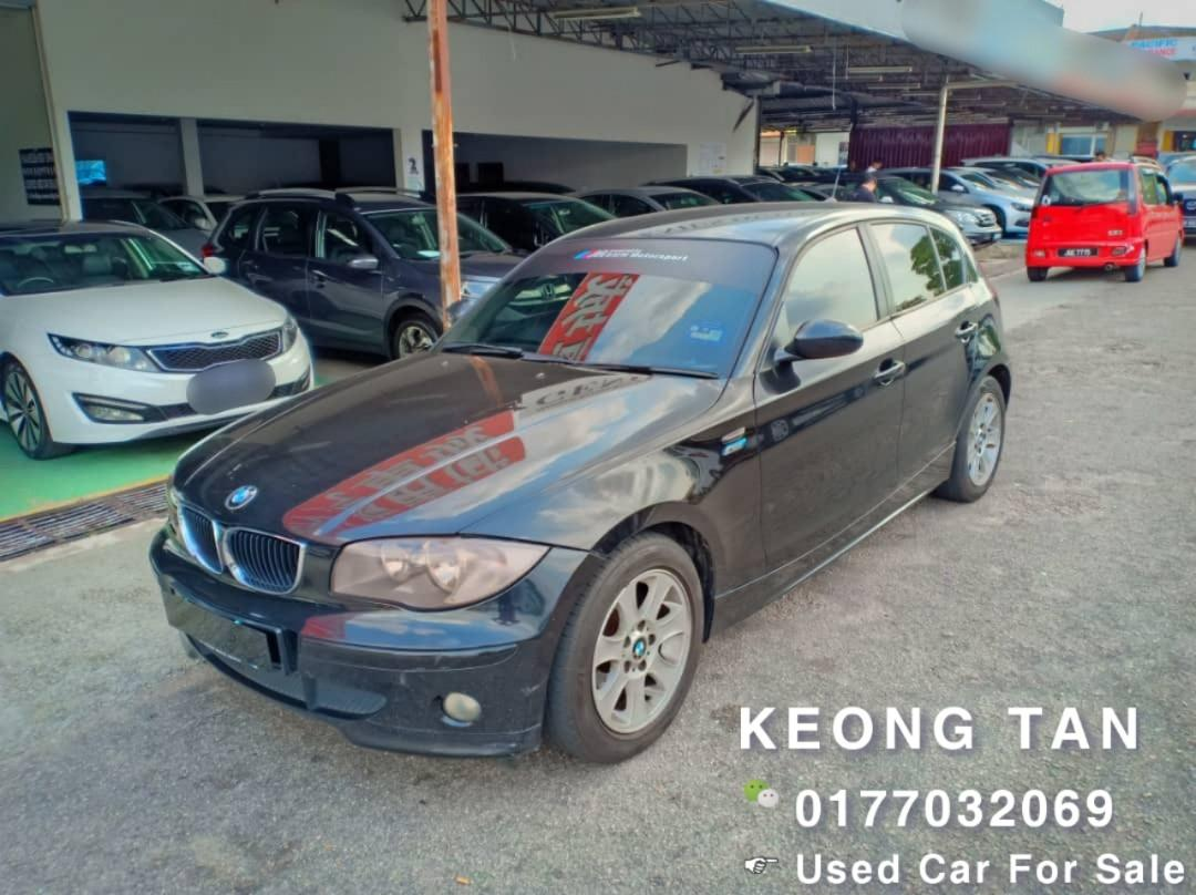 BMW 118I 2.0AT E87 2006TH H/B (#NUMBER #Plate #Xxx90)#RareCar In Market‼#Cash💰OfferPrice💲Rm26,500 Only‼ Lowest Price InJB 📲0177032069 Keong‼🤗