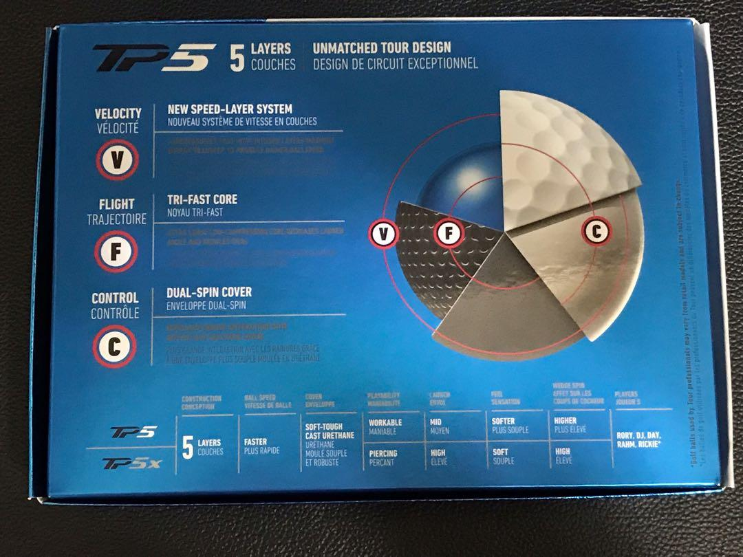 Hurry Hurry Before It's Gone (1 box left /2 sold)  - Genuine Brand New TaylorMade TP5 2019 Golf Balls