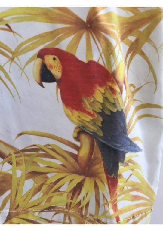 Camilla and Marc Jefferson dress, parrot pront- size 10