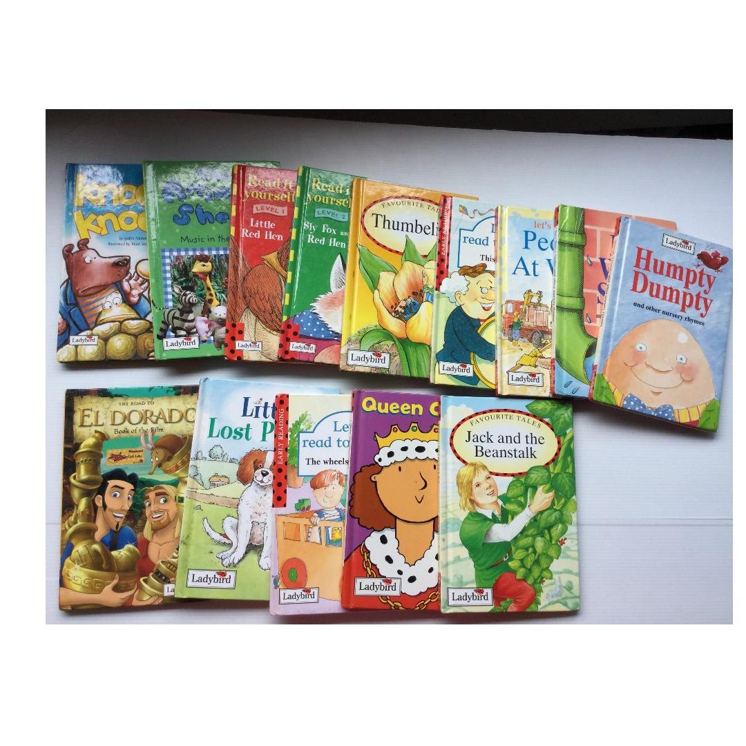 Children readers story books 30 books
