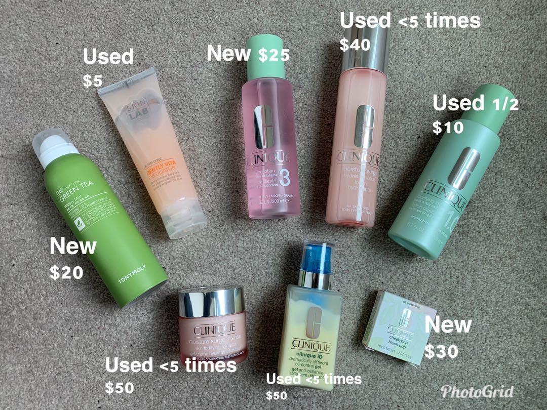 Clinique Facial Products