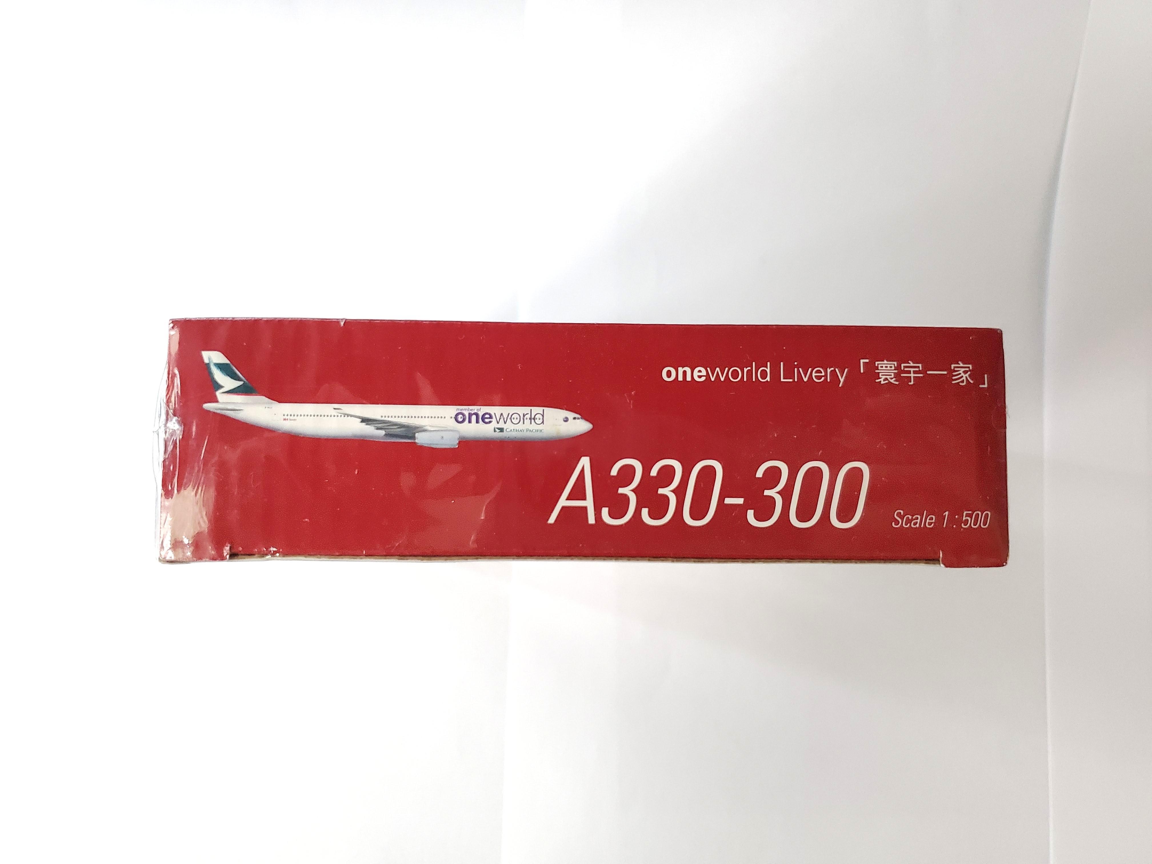 珍藏CX A330 oneworld aircraft model 飛機模型