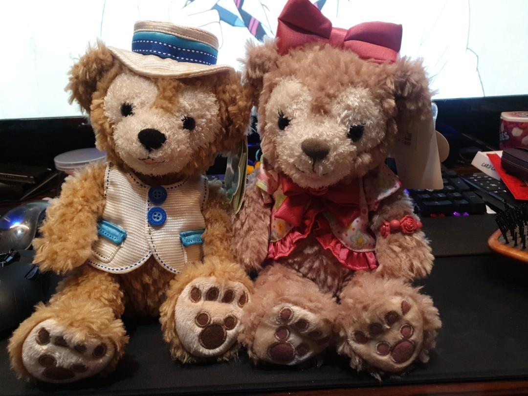 Tokyo Disney Sea Limited Disney Bear Duffy Friends Blanket Japan New