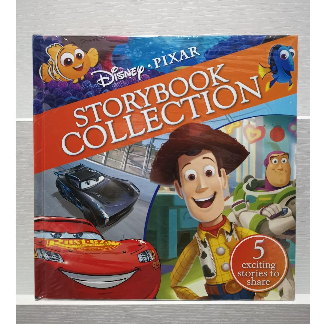 Disney Pixar Storybook Collection Cars + Finding Dory + Toy Story + Inside Out + The Good Dinosaur